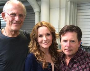 Parte do elenco se reuniu em Londres em julho deste ano para comemorar os 30 anos. Foto do instagram @leakthompson